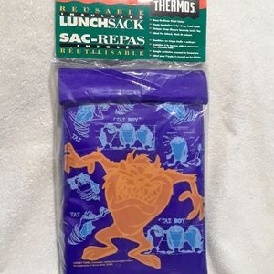 Vintage Looney tunes thermos lunch sack